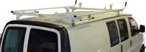 GMC Savana Van Ladder Rack - Double Lock Down